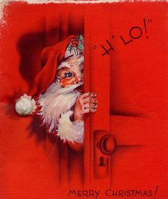 Vintage Santa 3 by profkaren, via Flickr