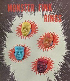 monster ring vintage - Google Search
