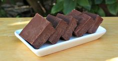 This coconut oil fudge is delicious and so easy to make. Plus it's a great way to eat some healthy coconut oil while feeling like you're indulging in a decadent treat!