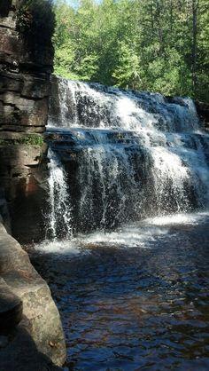 Gorge Falls near L'Anse MI