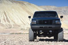 A crew cab, longbed, 7.3L OBS 1997 Ford F-350 hot rod from Utah that's just getting warmed up.