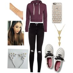 A fashion look from June 2015 featuring H&M hoodies, Keds sneakers and Forever 21 bracelets. Browse and shop related looks.