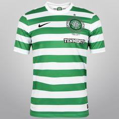 Acabei de visitar o produto Camisa Nike Celtic Home 12/13 s/nº