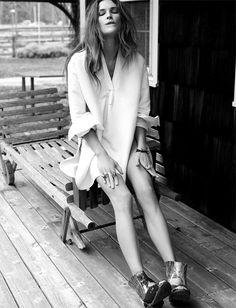 Erin Wasson by Fred Meylan for Elle France June