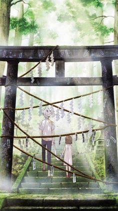 Hotarubi no Mori e (anime) Gin Anime, Manga Anime, Manga Art, Anime Art, Hotaru No Mori E, Hotarubi No Mori, Natsume Yuujinchou, Anime Scenery Wallpaper, Animation