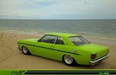 Australian Muscle Cars, Aussie Muscle Cars, Custom Classic Cars, Ford Classic Cars, Chrysler Valiant, Car Mods, Ford Falcon, Ford Gt, Amazing Cars