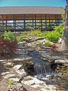 Covered Bridge Water Fall