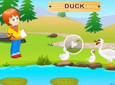 Engels leren aan kleuters met het digibord , boerderijdieren, farmanimals , kleuteridee