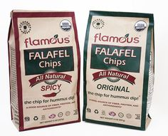 I love these Falafel Chips! They're constipating, so when I get glutened, it's better than an Immodium, Lmao! #flamous #falafel #chips