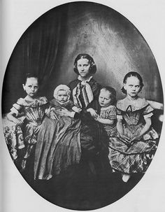 Mother with four children  via Flickr