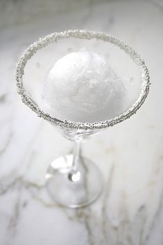 Snowball Martini.