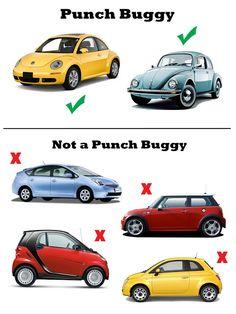 70 Best Punch Buggy Images Volkswagen Beetles Beetle Car Dream Cars
