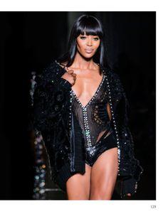 Focus on Versace Atelier in Paris chapter. #VersaceAtelier #HauteCouture #catwalks #fashion #woman #style #clothes #dress #look