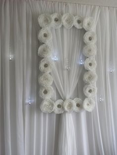 Hey, I found this really awesome Etsy listing at https://www.etsy.com/listing/209578603/flower-frame-backdrop-with-rhinestone
