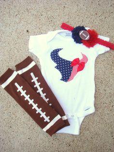 Houston Texans Onesie. $15.00, via Etsy.