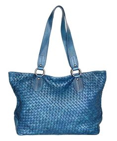 This Denim Snap Dragon Bouquet Leather Tote Woven Snap Dragon Leather Tote is… Tan Woman, Calves, Tote Bag, Denim, Heels, Leather, Bags, Weave, Bouquet