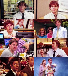 The Office Characters Throughout the Years- Jim Halpert