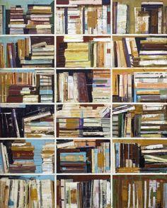 Pinzellades al món: Llibres i biblioteques: il·lustracions de Stanford Kay / Libros y bibliotecas: ilustraciones de Stanford Kay / Books and libraries: Stanford Kay illustrations