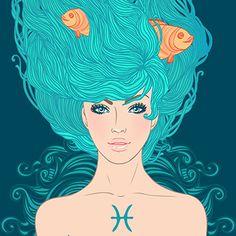 Zodiac: Pices, The Fishes (Arist-Varvara Gorbash)