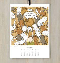 Désormais, il existe toutes sortes de calendriers : que ce soit celui des pompiers, celui avec des animaux mignons dessus, ou même celui des Dieux du Stade