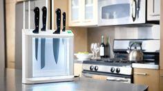 Pure Living UV Sanitizing Knife Holder