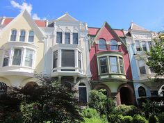 Row of houses in DC's Capitol Hill
