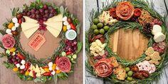 Centerpiece Christmas, Christmas Decorations, Appetizers Table, Appetizer Recipes, Christmas Appetizers, Christmas Foods, Christmas Treats, Christmas Recipes, Thanksgiving Recipes