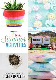 Fabulous and fun summer activities! maisondepax.com