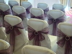 Buckle back wedding chair covers