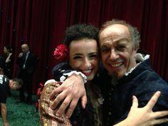 #ScalaTourJapan - 11/09/2013 - Tokyo NHK Hall - Rigoletto - Ketevan Kemoklidze and Leo Nucci at the end of the performance http://www.teatroallascala.org/en/season/tours/2012-2013/japan/rigoletto-giuseppeverdi-2013.html