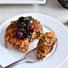 Sweet Potato Quinoa Cakes | Recipes | Beyond Diet