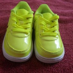 finest selection 23a87 315c8 Nike Shoes   Nike Air Force Ones   Color  Green   Size  5bb