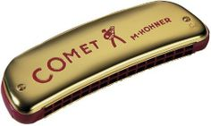 Hohner2503 Comet Harmonica, Minor C by Hohner. $88.31. Similar to its sister harmonica, the tremolo, octave harmonicas are also double reed instruments. The bottom row of holes features the same notes as the top row, with reeds tuned exactly one octave apart. This enables a solo player to get a stronger, richer bodied sound than with a single reed harmonica. Octave models are popular in Cajun, Old Time, Celtic, and Traditional music.