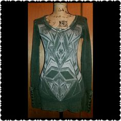 Selling this Idylle Thermal Shirt in my Poshmark closet! My username is: hautestacy. #shopmycloset #poshmark #fashion #shopping #style #forsale #idylle #Tops