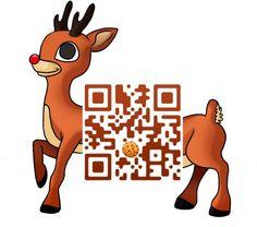 Reindeer QR Code