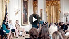 President Trump Delivers Remarks at the Women's Empowerment Panel.  President Trump spoke to the Women's Empowerment Panel on Saturday in the East Room of the White House.   #AbigailAdams, #BetsyDeVos, #DonaldTrump, #HarrietTubman, #PamBondi, #PresidentTrump, #SusanBAnthony, #WomenLeaders