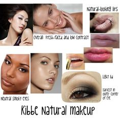 Kibbe Natural makeup by furiana on Polyvore featuring Revlon