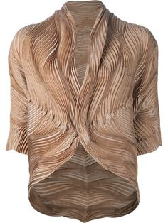 Shop Issey Miyake wave pleated jacket in Anastasia Boutique from the world's best independent boutiques at farfetch.com. Shop 400 boutiques at one address.