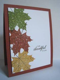 Autumn leaves - lovely!