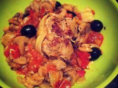 Recette de Paupiettes de veau aux oignons et tomates