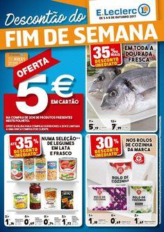 Folheto #ELeclerc promoções descontão do fim de semana em vigor de 05 a 08 Outubro.