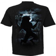 T-shirt homme avec loup garou Butch Fashion, Butches, Werewolves, T Shirt, Mens Tops, Clothes, Ideas, Gothic Clothing, Werewolf