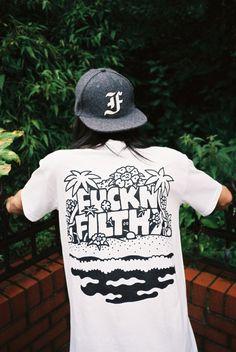 Fuck n filthy Tee Shirt Designs, Tee Design, Mode Style, Apparel Design, Urban, Vintage Shirts, Custom Clothes, Streetwear Fashion, Shirt Style