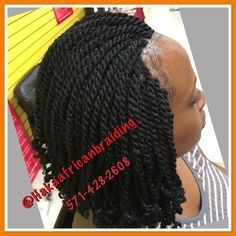 Kinky Twists done in no time by Haka Crew... Call now and get yours done today! MORNING AND AFTERNOON SPOTS AVALAIBLE! WALK-INS WELCOME! 571-428-2608 for Pricing info or appointment! #Africantwists #Naturaltwists #Shortwits #Kinkytwists #bestafricanhairbraidinginnorthervirginia #Bestbraiders #Hakaafricanbraiding #Manassasmall #Freewifi #Freewater