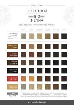 Orientana BIO Henna MAHONIOWA CZERWIEŃ do włosów długich