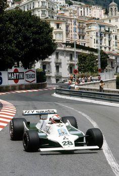 Clay Regazzoni finished runner-up in Williams' second Monaco Grand Prix in 1979 ©LATphotography Real Racing, F1 Racing, Racing Team, Clay Regazzoni, Jody Scheckter, Gp F1, Williams F1, Lancia Delta, Monaco Grand Prix