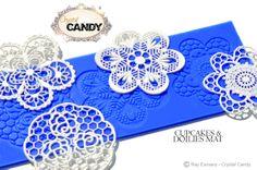 CUPCAKES & DOILIES Mat design
