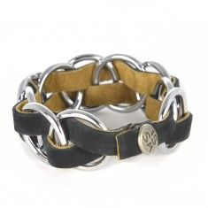 Handmade Accessories, Belt, Elegant, Bracelets, Leather, Black, Jewelry, Christmas, Fashion