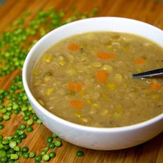 Vegan Split Pea and Sweet Potato Soup