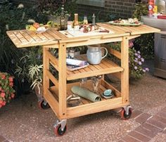 Exceptionnel Outdoor Bar Cart On Wheels   Google Search